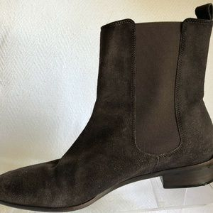 Talbots Shoes - Talbots Pull On Chelsea Boots 7.5 B Casual Brazil